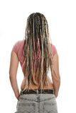 Ethnic dreadlocks hairdress Royalty Free Stock Image