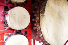 Ethnic drum Royalty Free Stock Images