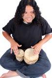 Ethnic drummer Stock Image