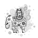 Ethnic elephant Stock Photography