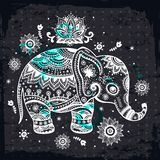 Ethnic elephant illustration Stock Images