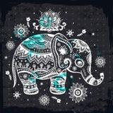 Ethnic elephant illustration Stock Images