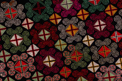 Ethnic embroidery pattern Royalty Free Stock Images