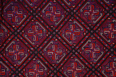Ethnic embroidery pattern Stock Photo
