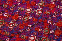 Ethnic embroidery pattern Stock Image