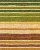 Ethnic fabric of coloured stripes Royalty Free Stock Photos
