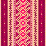 Ethnic fabric pattern Stock Photo