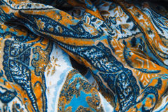 Ethnic fabric texture Royalty Free Stock Photography