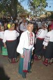 Ethnic Festival. PECHENEGY, UKRAINE- SEPTEMBER 12: Participants of Ethnic Festival Pechenezhskoe Pole (Field), September 12, 2010 in Pechenegy of Kharkiv state Stock Photography