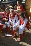 Ethnic Festival. PECHENEGY, UKRAINE- SEPTEMBER 12: Participants of Ethnic Festival Pechenezhskoe Pole (Field), September 12, 2010 in Pechenegy of Kharkiv state Stock Photos