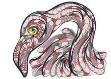 Ethnic flamingo Royalty Free Stock Image