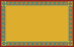 Ethnic floral frame Royalty Free Stock Images