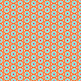 Ethnic floral seamless pattern. Abstract ornamental pattern Royalty Free Stock Photography
