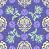 Ethnic Floral Seamless Pattern10 Stock Images
