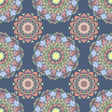 Ethnic floral seamless pattern4 Stock Photography