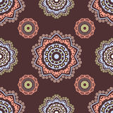 Ethnic floral seamless pattern5 Stock Images