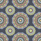 Ethnic floral seamless pattern6 Stock Photos