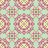 Ethnic floral seamless pattern2 Royalty Free Stock Image