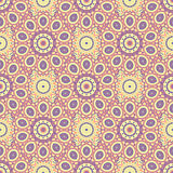 Ethnic floral seamless pattern4 Royalty Free Stock Photos