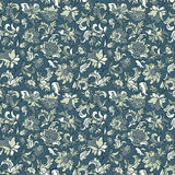 Ethnic floral seamless pattern. Ethnic floral seamless textile pattern Royalty Free Stock Photography