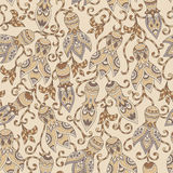 Ethnic floral seamless pattern Royalty Free Stock Photo