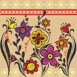 Ethnic flower Stock Photo
