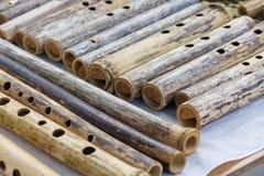 ethnic flute sopilka ukrainian arkivfoto