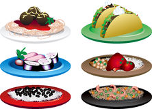 Ethnic Food Royalty Free Stock Image