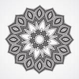 Ethnic Fractal Mandala Royalty Free Stock Photos
