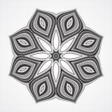 Ethnic Fractal Mandala Stock Image