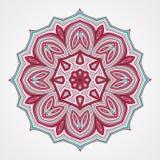 Ethnic Fractal Mandala Royalty Free Stock Photography