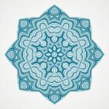Ethnic Fractal Mandala Royalty Free Stock Image