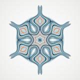 Ethnic Fractal Mandala Royalty Free Stock Photo