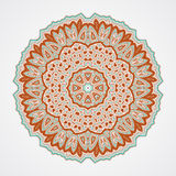 Ethnic Fractal Mandala Stock Photography