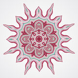 Ethnic Fractal Mandala Stock Photos