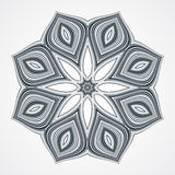 Ethnic Fractal Mandala Royalty Free Stock Photo