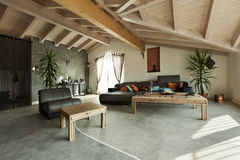 Ethnic furniture, living room Stock Image