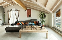 Ethnic furniture, living room Royalty Free Stock Photos