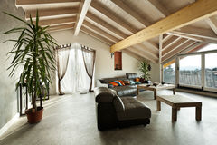 Ethnic furniture, living room. Interior new loft, ethnic furniture, living room stock images