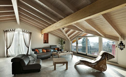Ethnic Furniture, Living Room Stock Photos