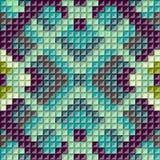 Ethnic geometric ornament. background Royalty Free Stock Image