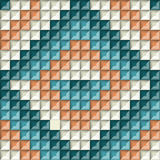 Ethnic geometric ornament. background vector illustration