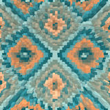Ethnic geometric ornament. background stock illustration