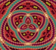 Ethnic geometric ornament. background Stock Image