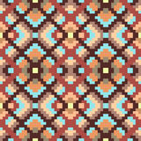 Ethnic geometric ornament. pattern Royalty Free Stock Images