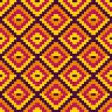 Ethnic geometric ornament. pattern royalty free illustration