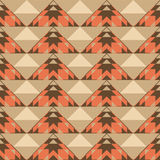 Ethnic geometric seamless pattern Royalty Free Stock Images
