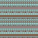 Ethnic geometric seamless pattern Royalty Free Stock Photos