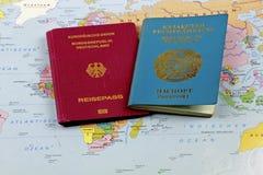 Ethnic German emigrant Stock Photos