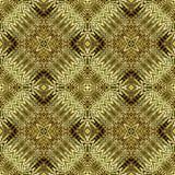 Ethnic Golden Geometric Seamless Pattern Stock Photos